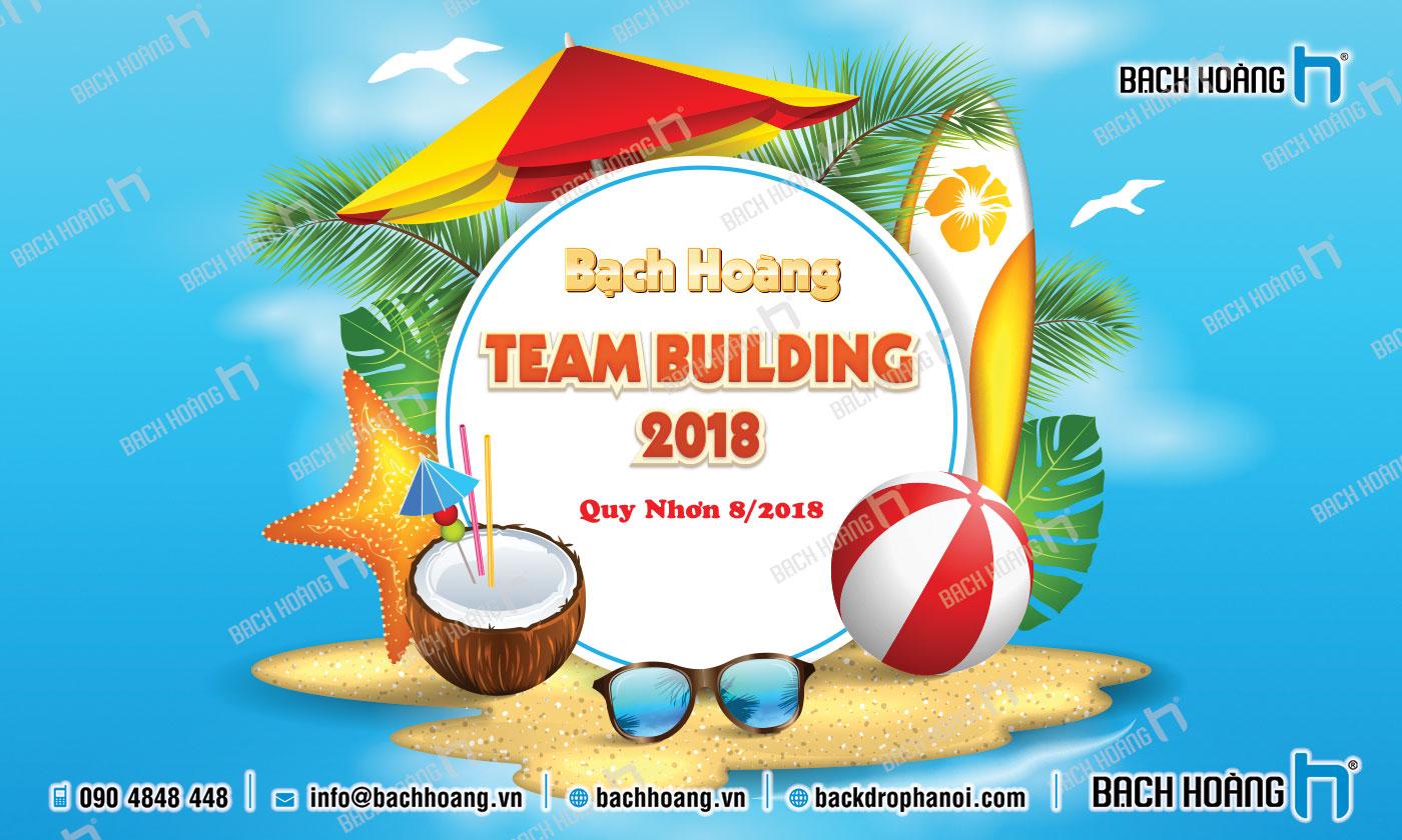 Thiết Kế Backdrop - Phông Gala Dinner - Team Building mẫu 45