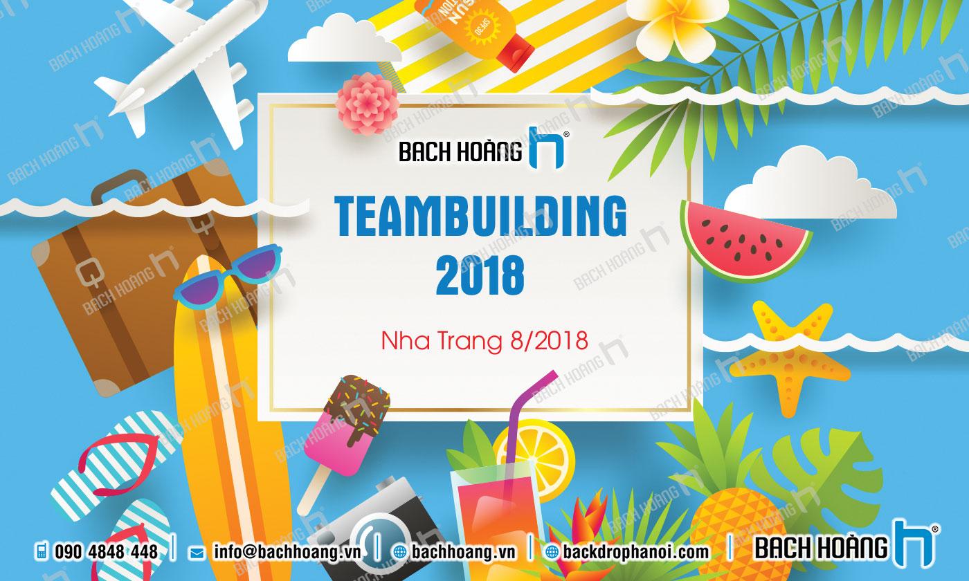 Thiết Kế Backdrop - Phông Gala Dinner - Team Building mẫu 46