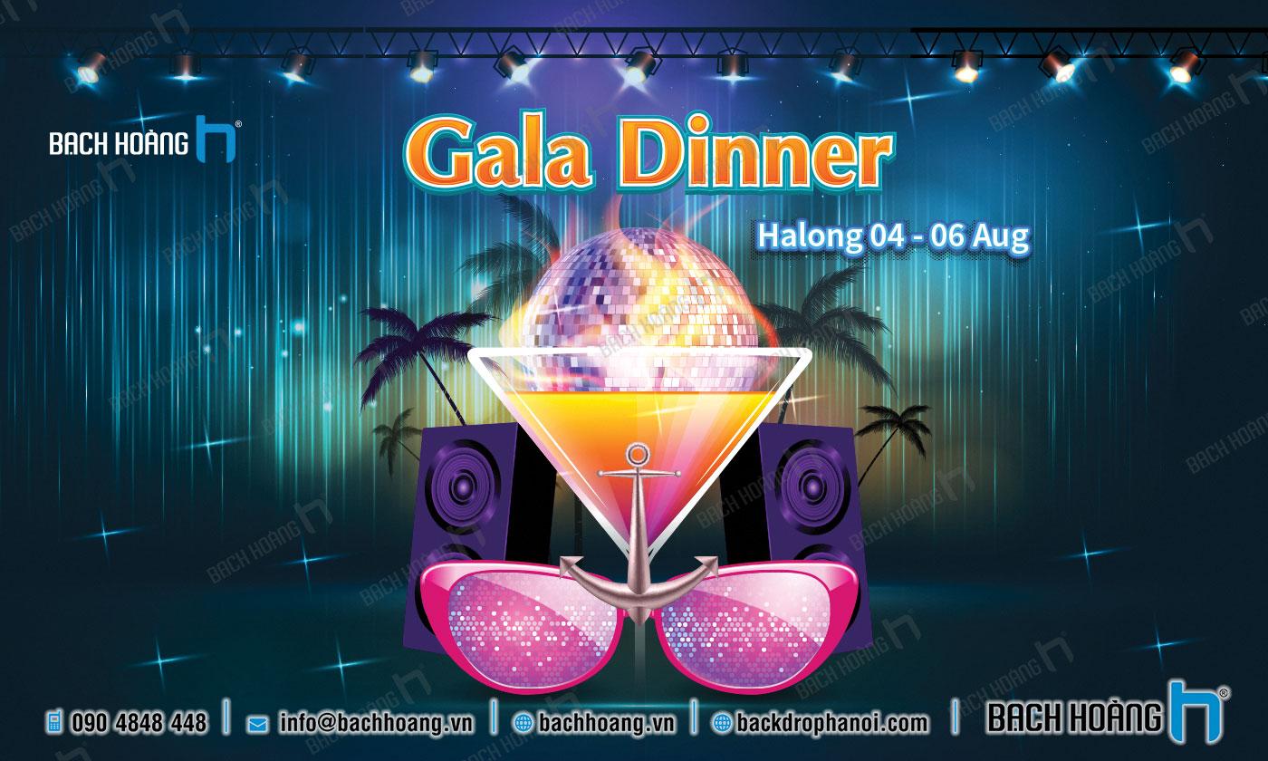Thiết Kế Backdrop - Phông Gala Dinner - Team Building mẫu 52