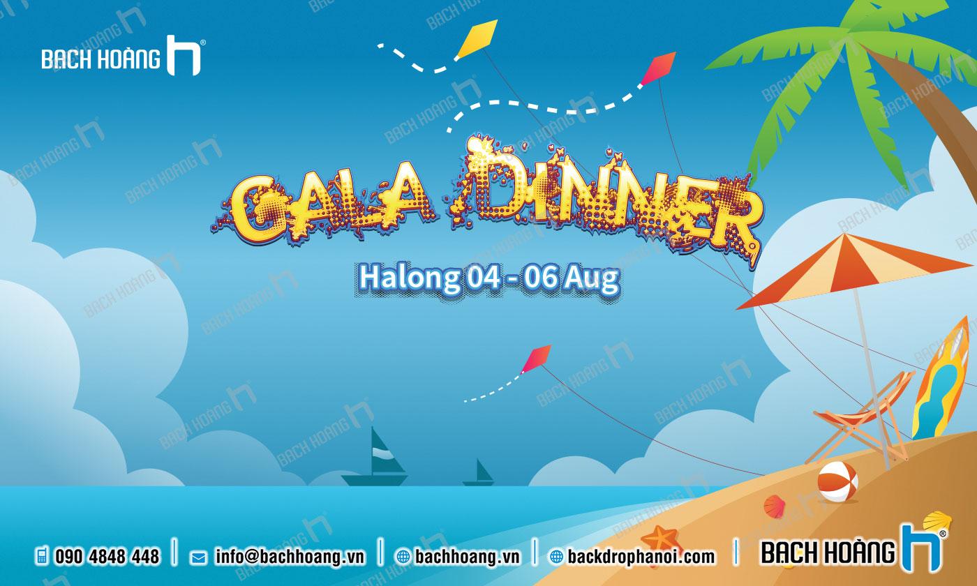 Thiết Kế Backdrop - Phông Gala Dinner - Team Building mẫu 53