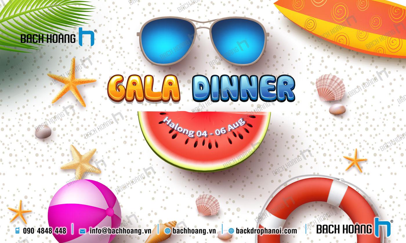Thiết Kế Backdrop - Phông Gala Dinner - Team Building mẫu 54