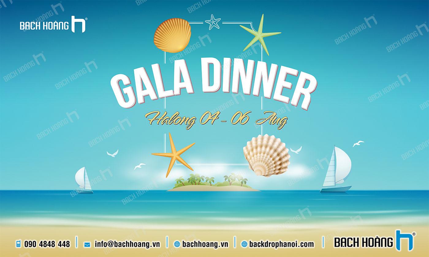 Thiết Kế Backdrop - Phông Gala Dinner - Team Building mẫu 55