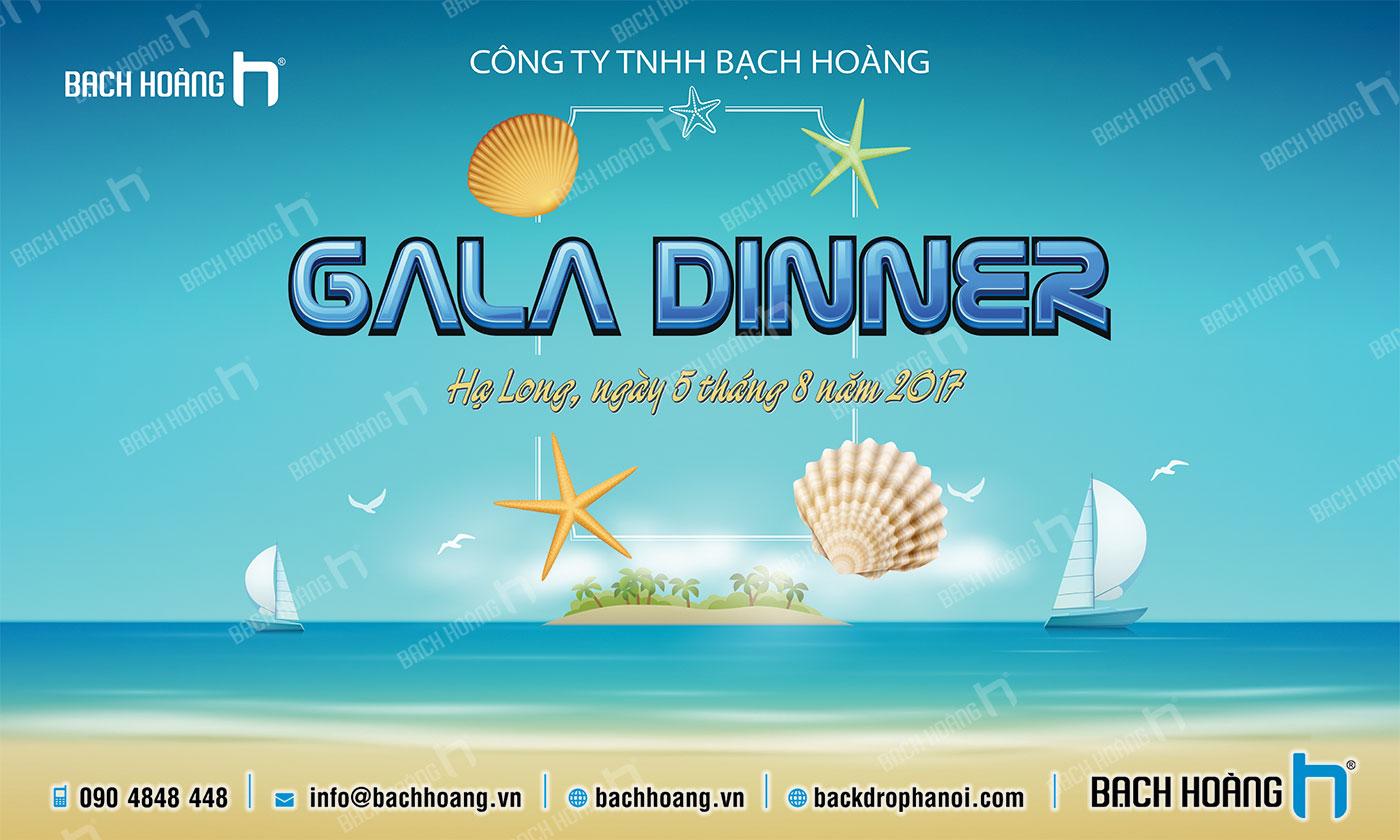 Thiết Kế Backdrop - Phông Gala Dinner - Team Building mẫu 58