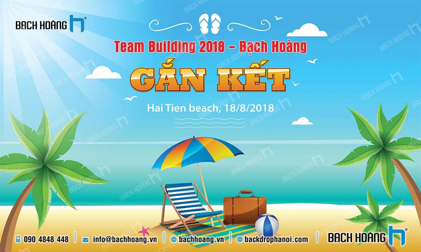 Thiết Kế Backdrop - Phông Gala Dinner - Team Building mẫu 62