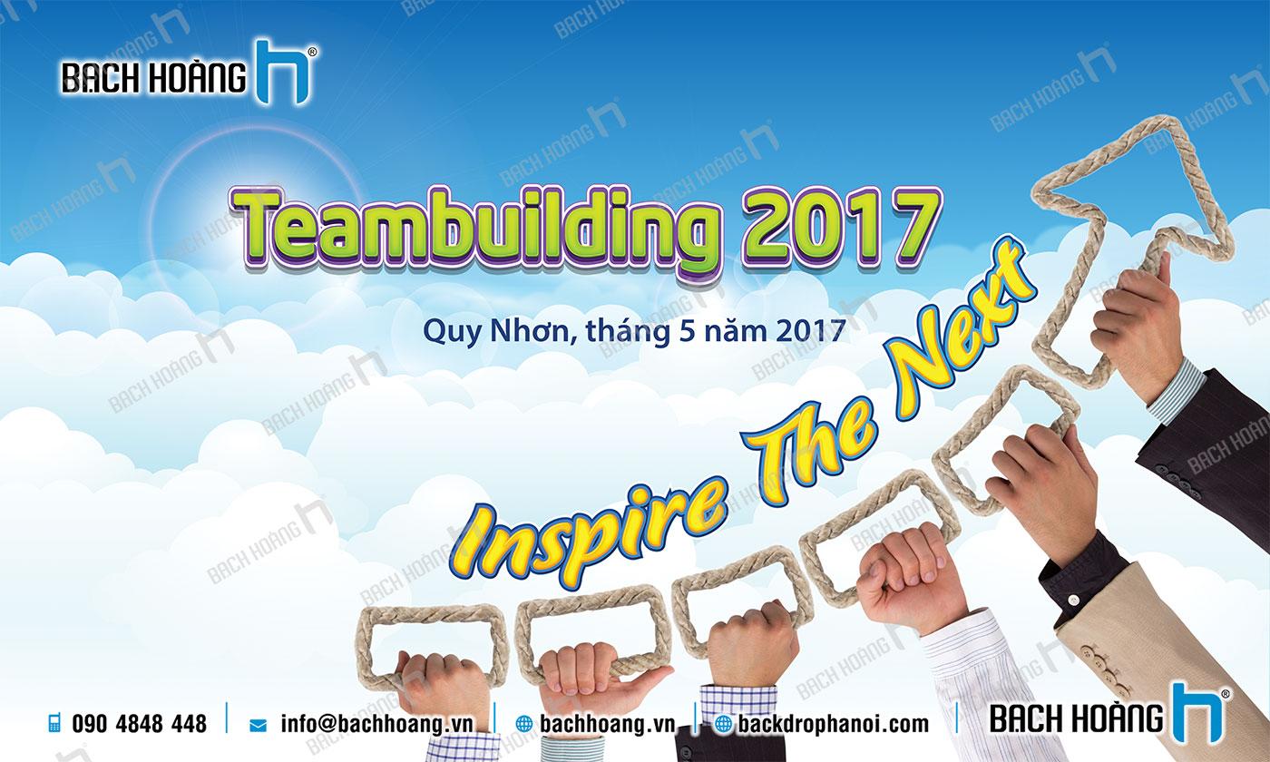 Thiết Kế Backdrop - Phông Gala Dinner - Team Building mẫu 63