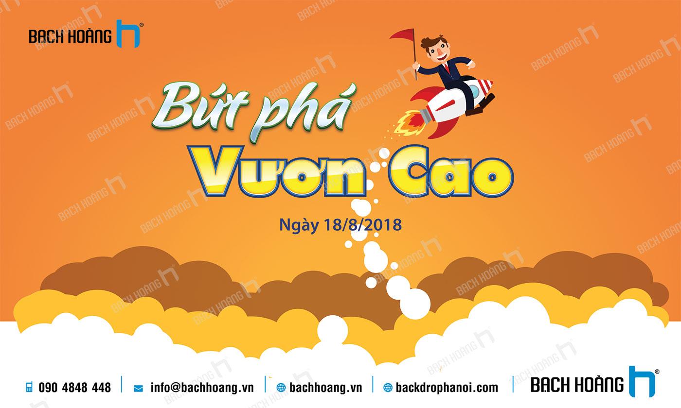 Thiết Kế Backdrop - Phông Gala Dinner - Team Building mẫu 64