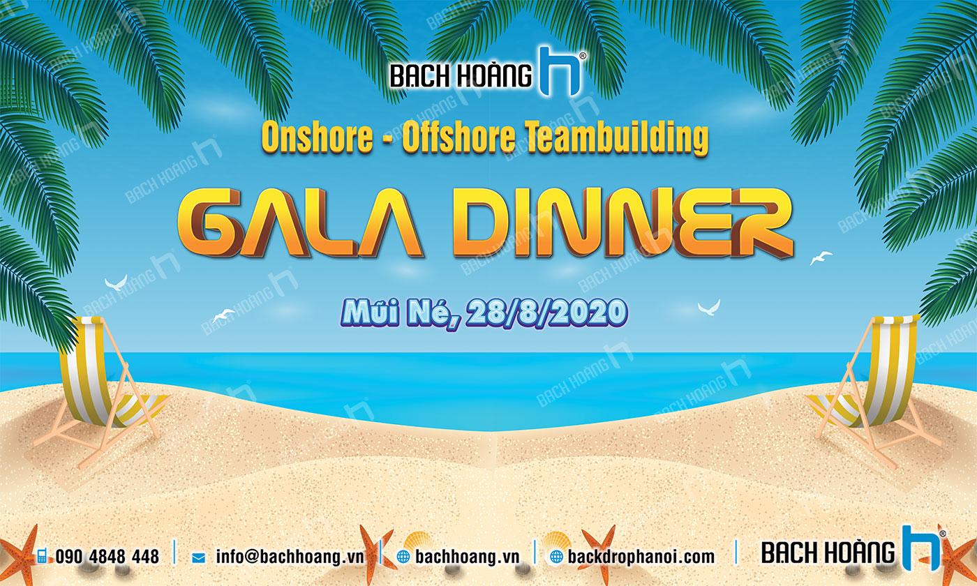 Thiết Kế Backdrop - Phông Gala Dinner - Team Building mẫu 65
