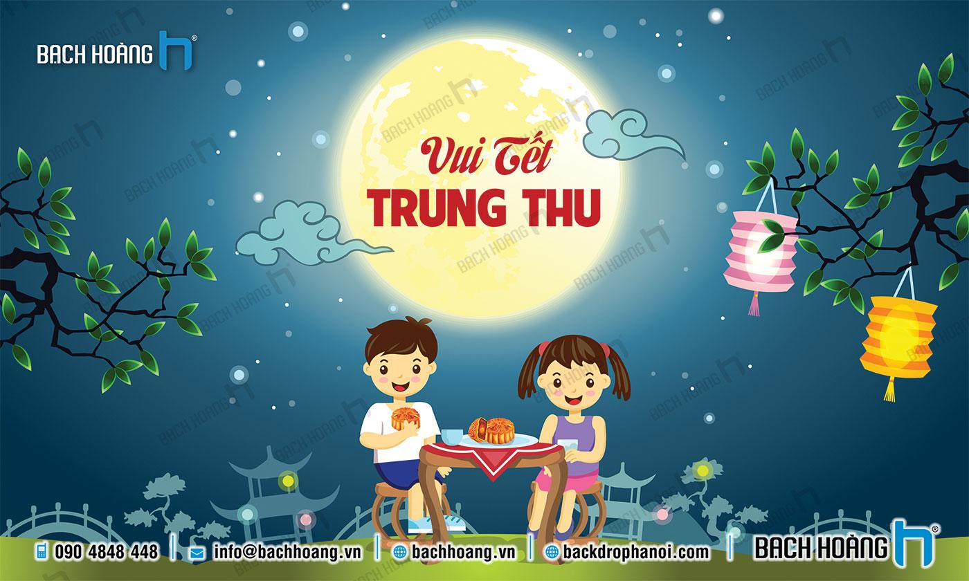 Thiết Kế Backdrop - Phông Sân Khấu Tết Trung Thu 04