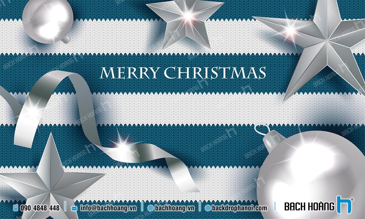 Thiết Kế Backdrop - Phông Noel Giáng Sinh Merry Christmas 39
