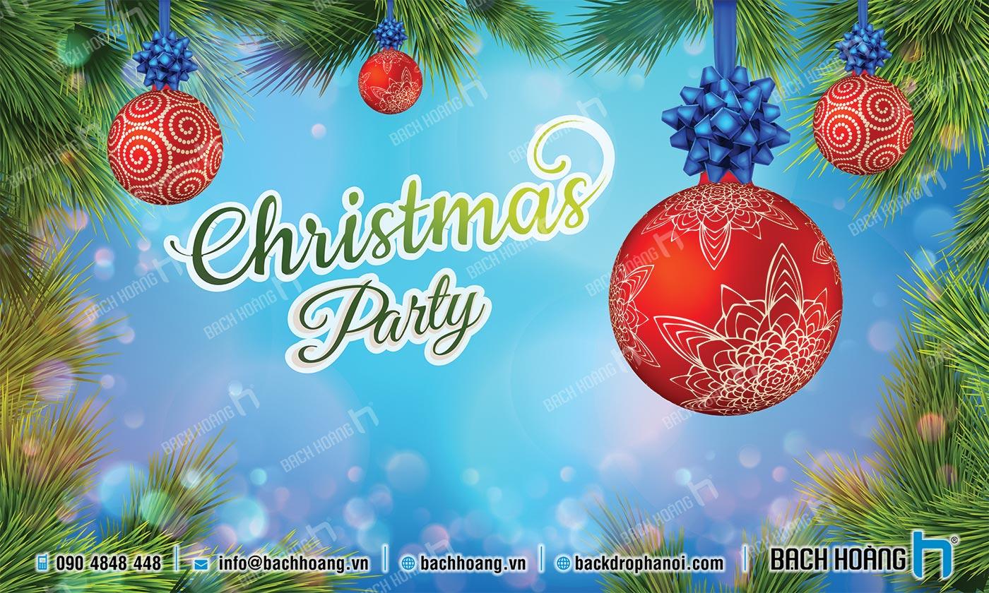 Thiết Kế Backdrop - Phông Noel Giáng Sinh Merry Christmas 64