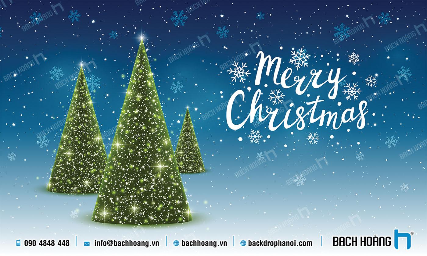 Thiết Kế Backdrop - Phông Noel Giáng Sinh Merry Christmas 69