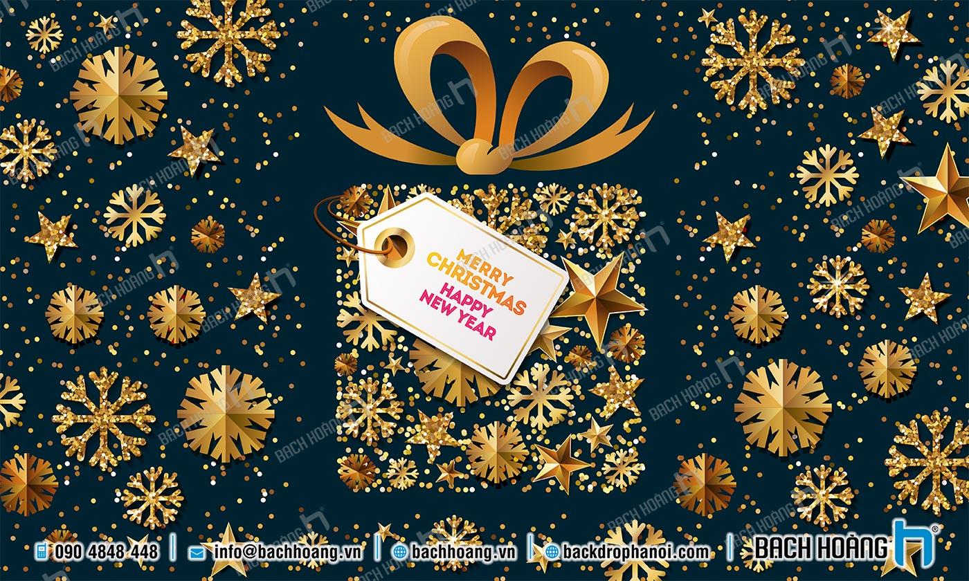 Thiết Kế Backdrop - Phông Noel Giáng Sinh Merry Christmas 71