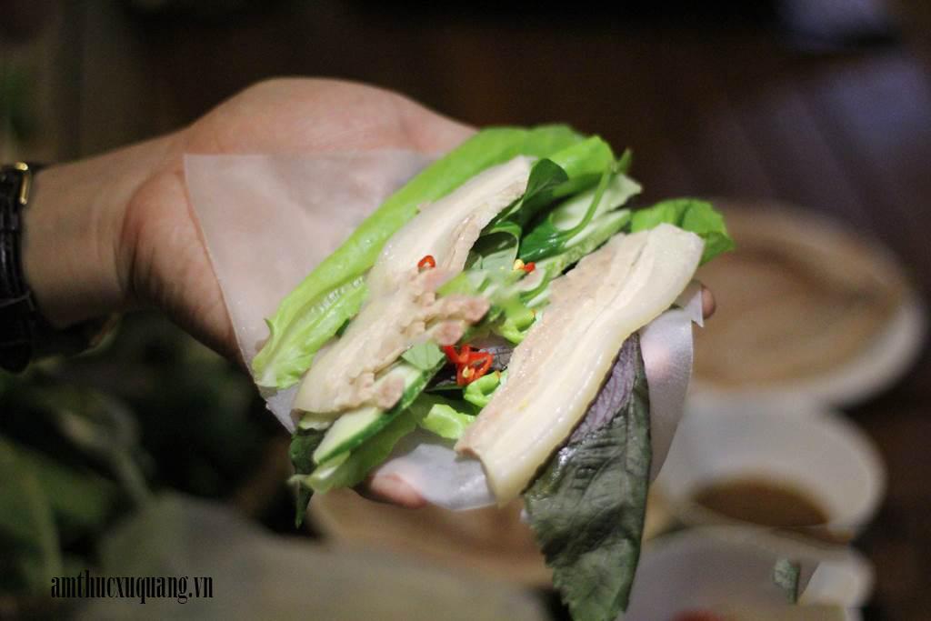 Quê Nhà - Bánh Tráng Thịt Heo - K72/1C Hàm Nghi (bên cạnh chung cư HAGL), Quận Thanh Khê