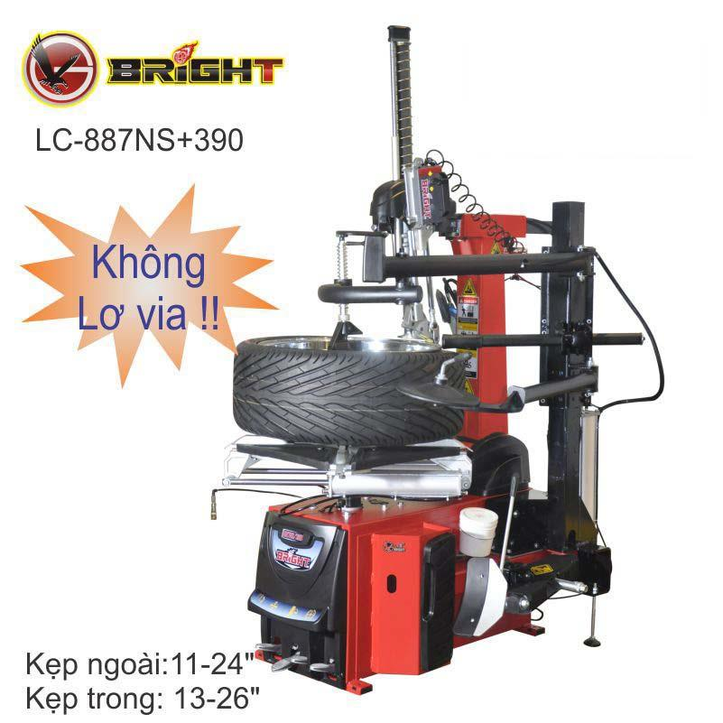 Máy ra vào lốp tự động (không lơ via) Bright LC-887NS+390