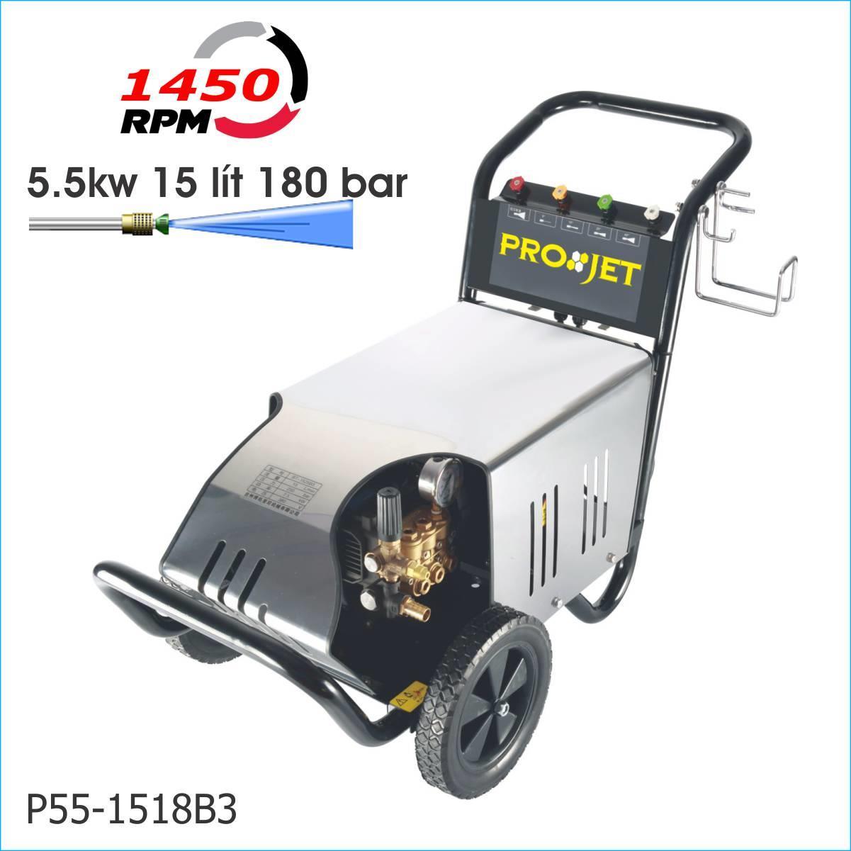Máy xịt rửa công nghiệp P55-1518B3