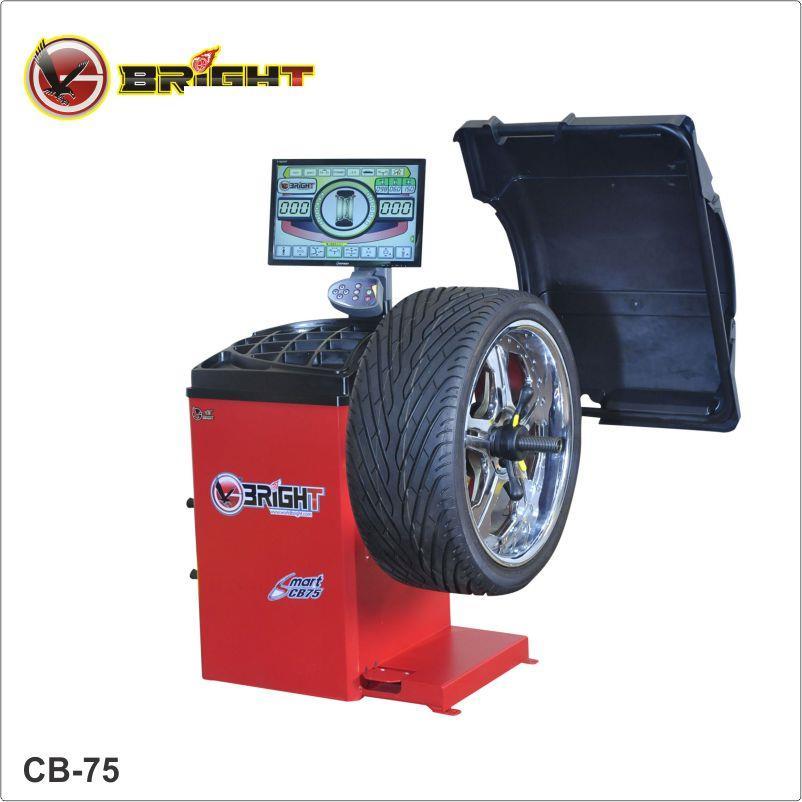 Máy cân bằng lốp ô tô Bright CB-75P
