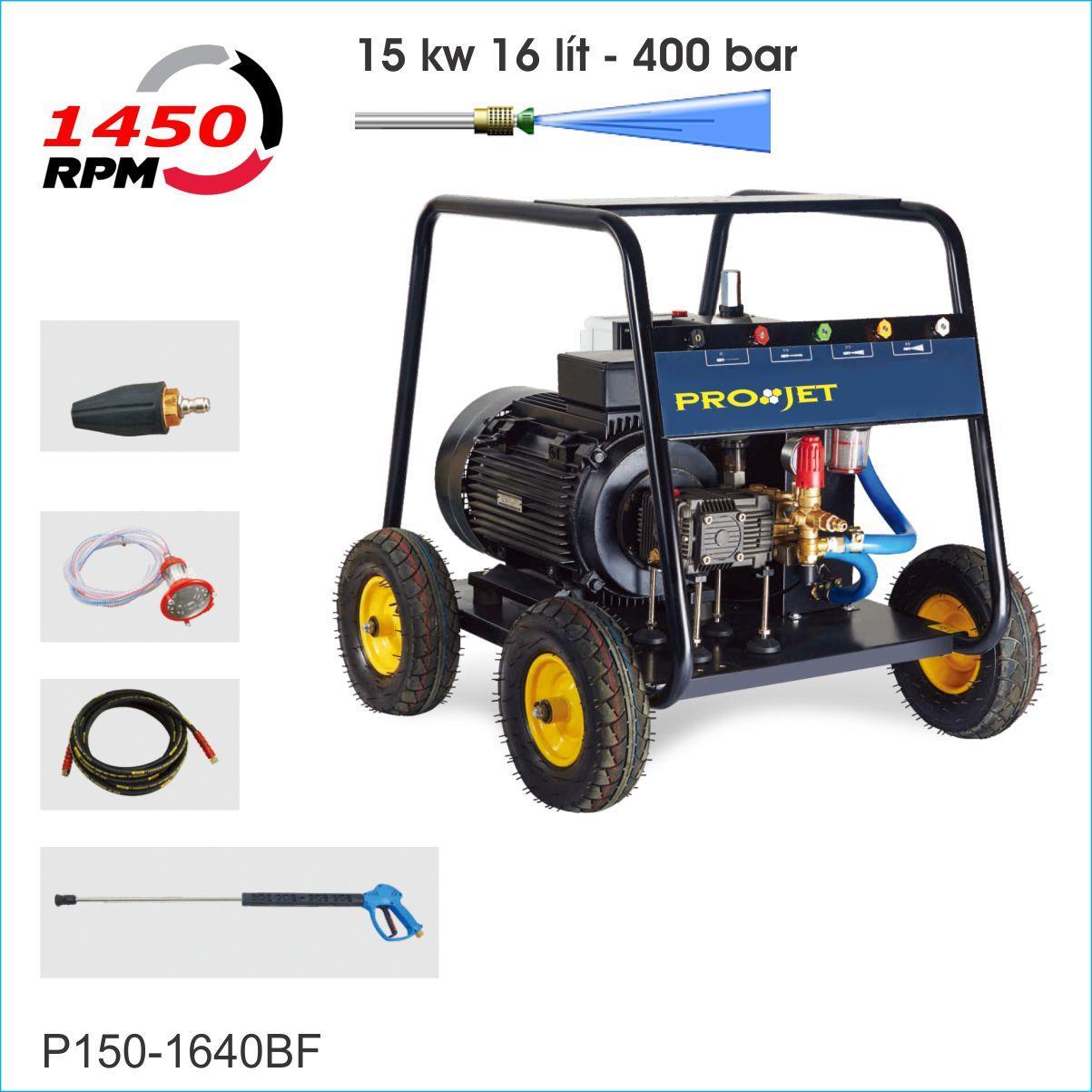 Máy phun rửa cao áp PROJET P150-1640BF
