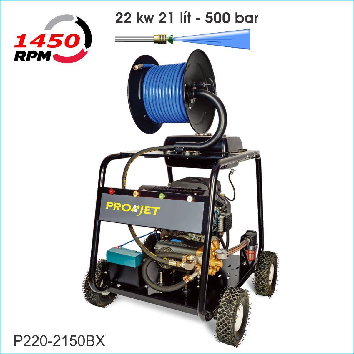Máy phun rửa cao áp PROJET P220-2150BX