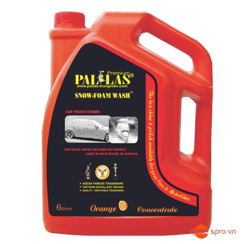 Hóa chất bọt tuyết Pallas 6 Lít SPR6L