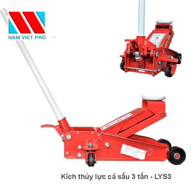 Kích thủy lực thân ngắn 3 tấn LYS3
