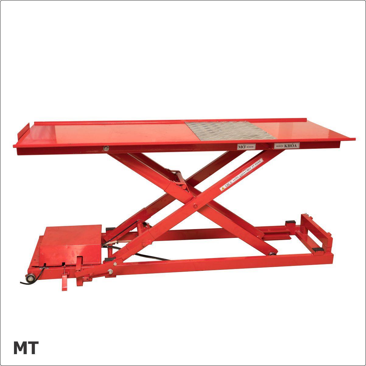 Cầu nâng xe máy MT