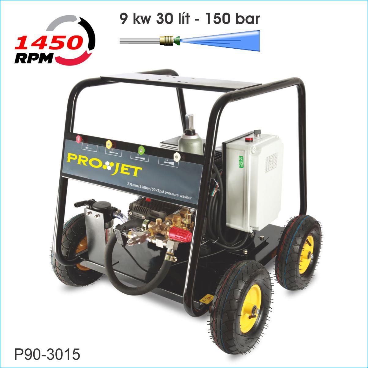 Máy rửa xe cao áp 9kw P90-3015