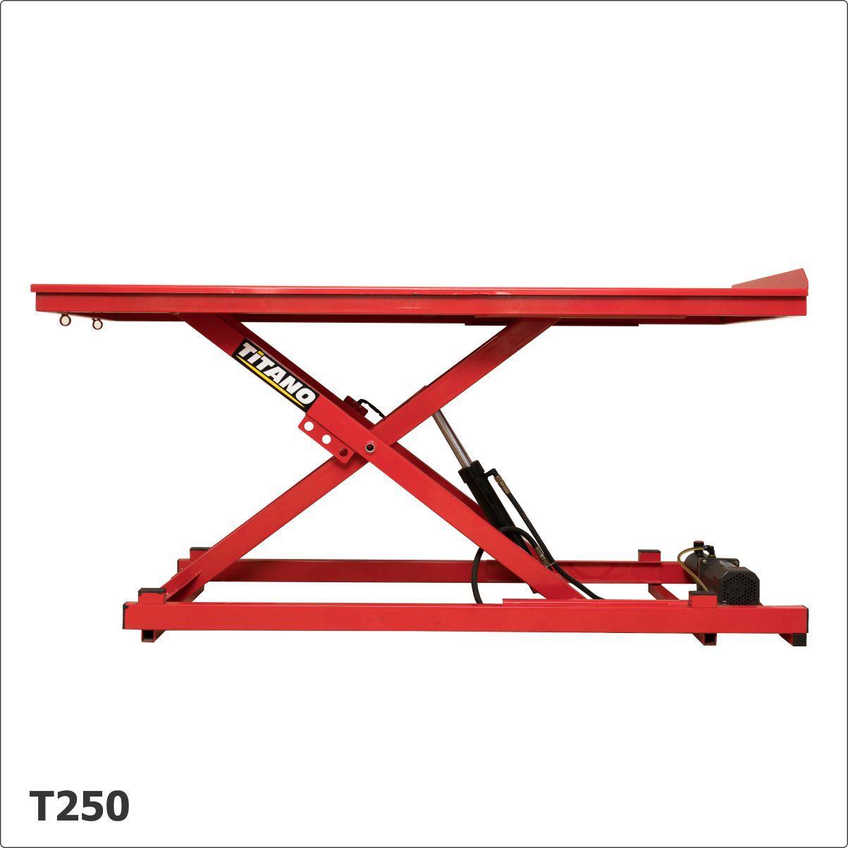 Cầu nâng xe máy T250