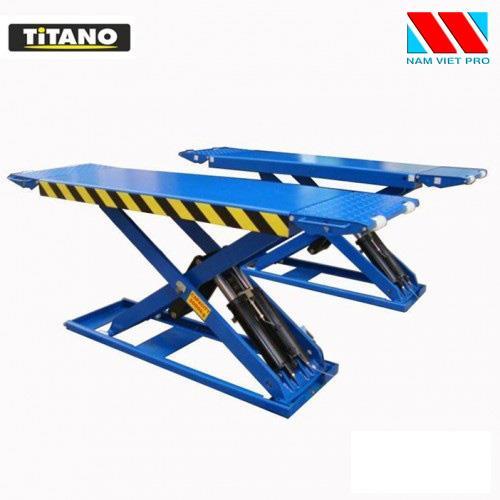 Cầu nâng cắt kéo nâng bụng ô tô TITANO 3.0SSE-3 tấn