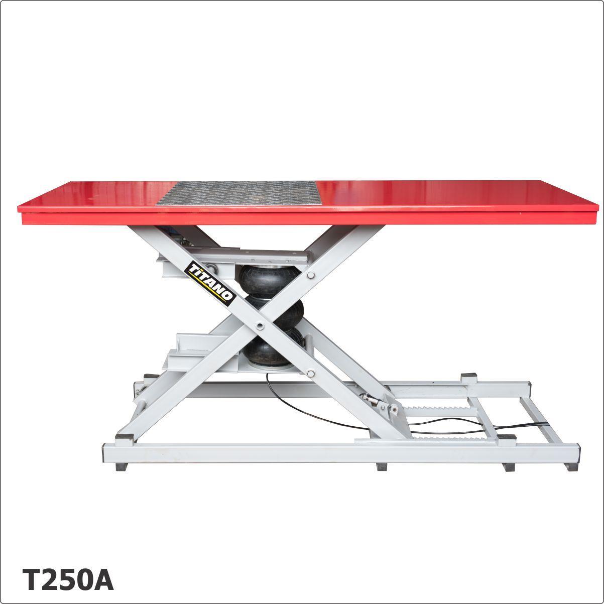 Cầu nâng xe máy, bàn nâng xe máy T250A