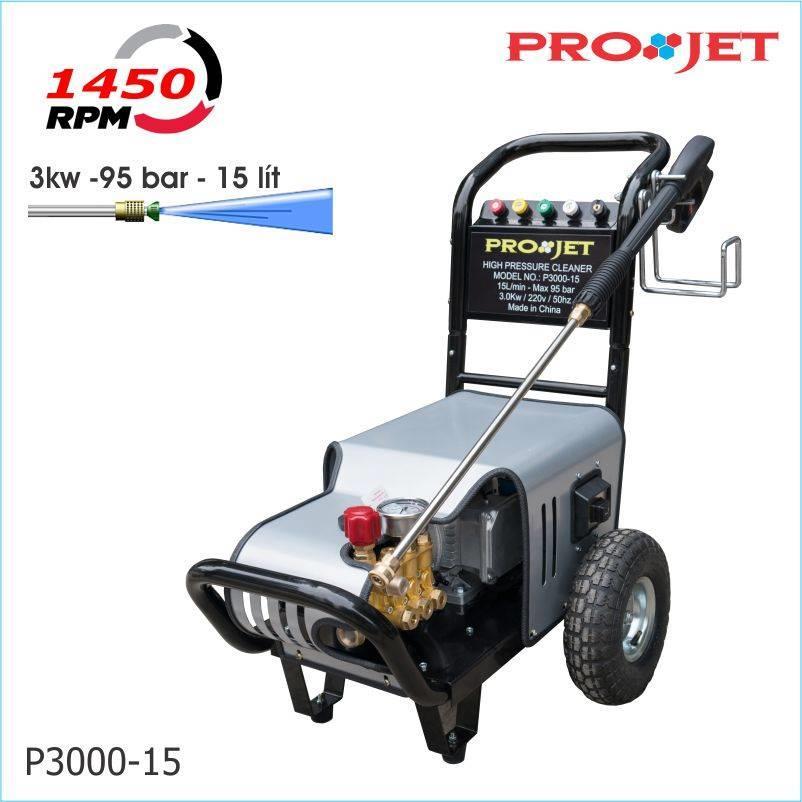 Máy bơm rửa xe ô tô P3000-15