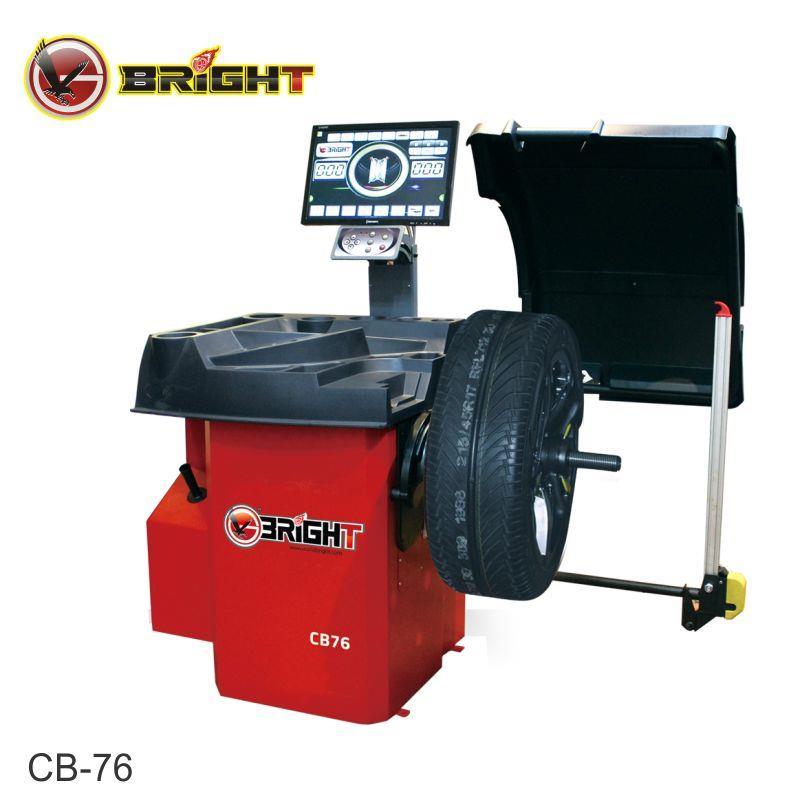 Máy cân bằng lốp ô tô Bright CB-76