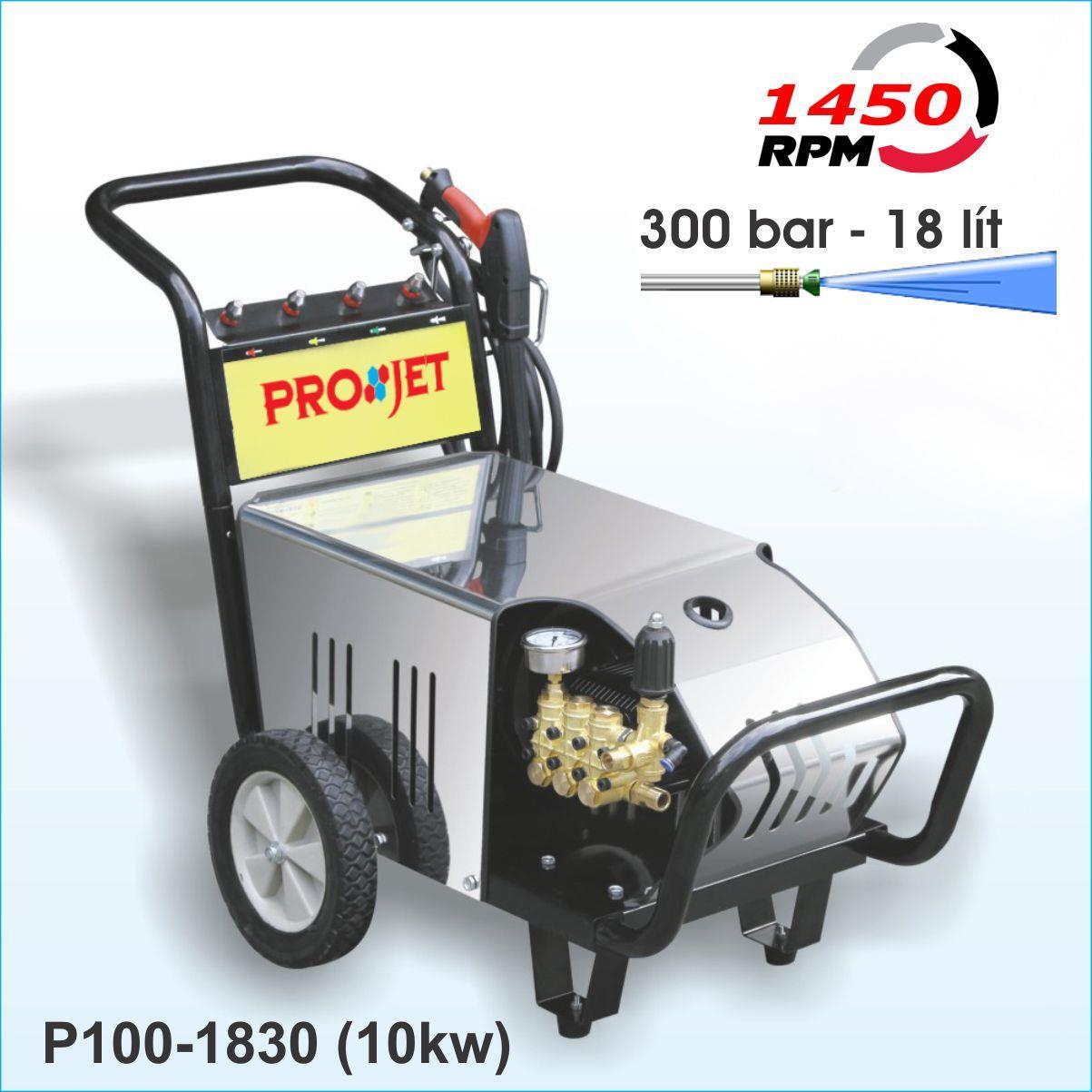 Máy rửa ô tô áp lực cao 10kw P100-1830