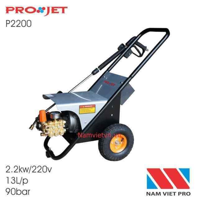 Máy phun rửa cao áp PROJET P2200 (2.2kw)