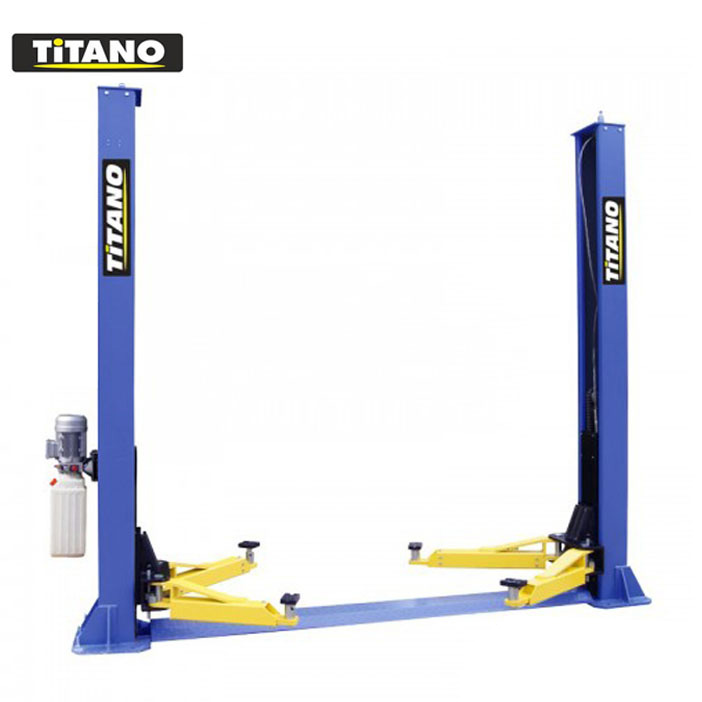 Cầu nâng 2 trụ giằng dưới cóc giật 2 bên Titano TB 4000D