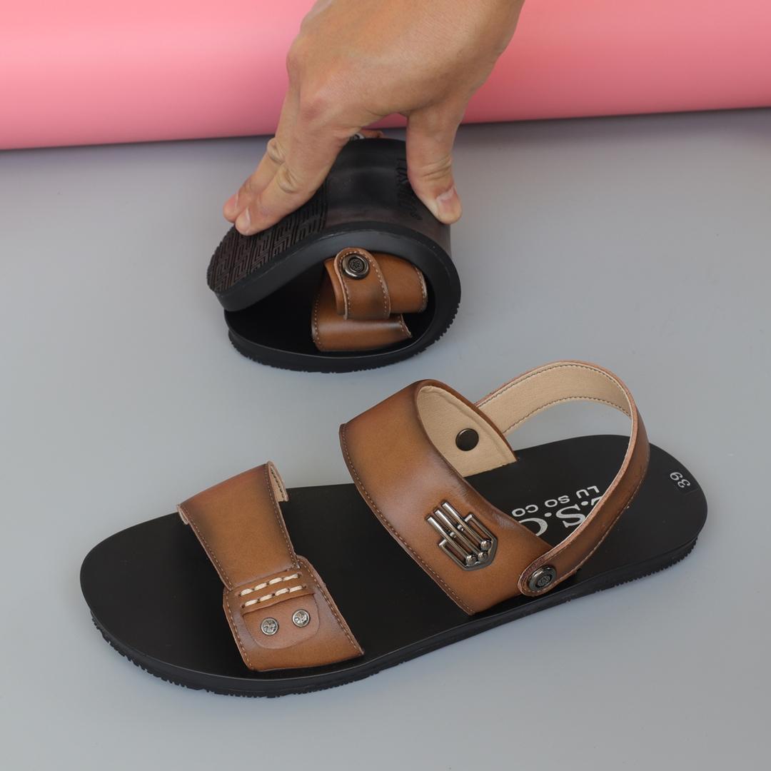Dép sandal da nam xịn