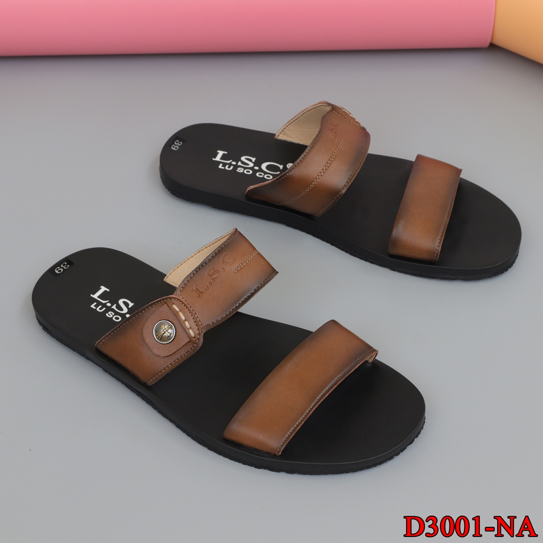 Dép sandal nam da xịn
