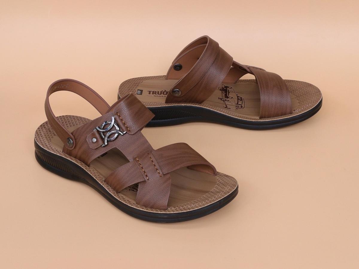Sandal da bò đế cao