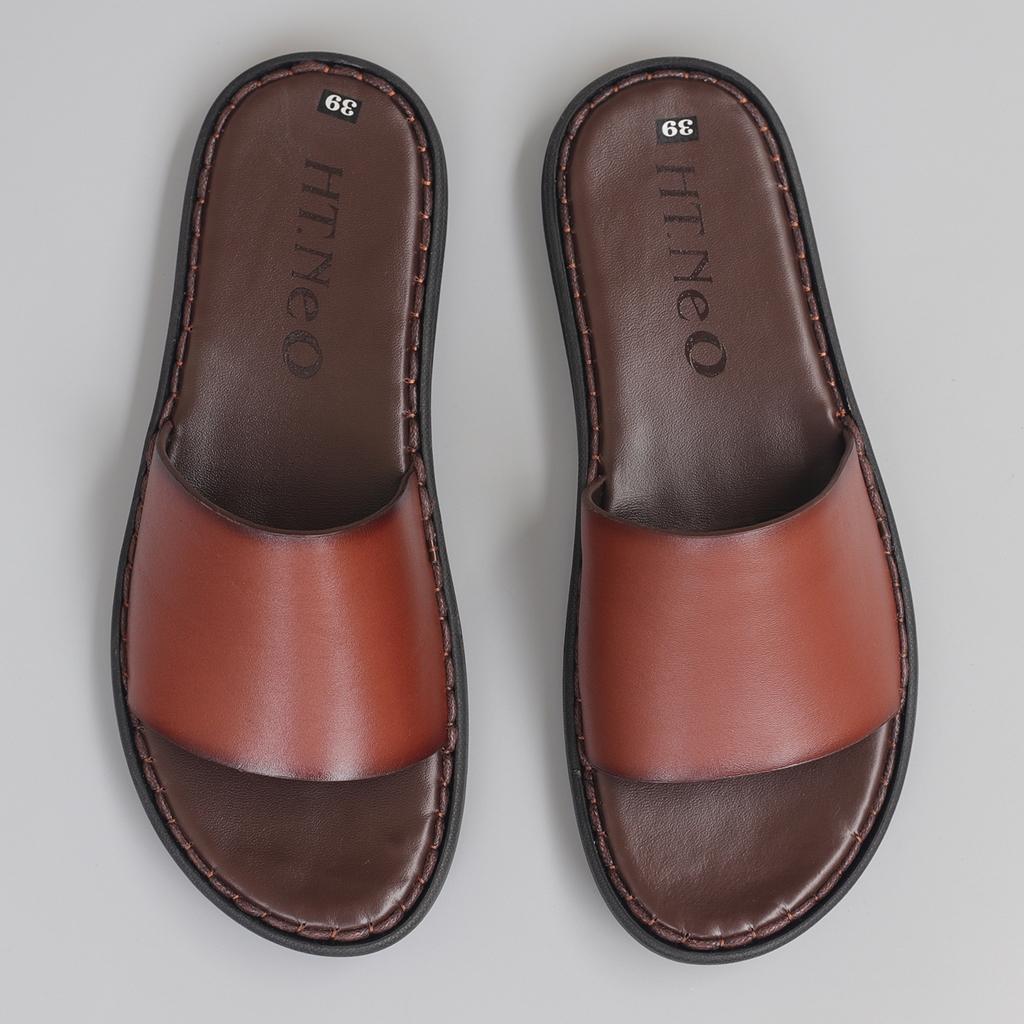 Sandal Nam Đế Cao 3.5p da bò đẹp