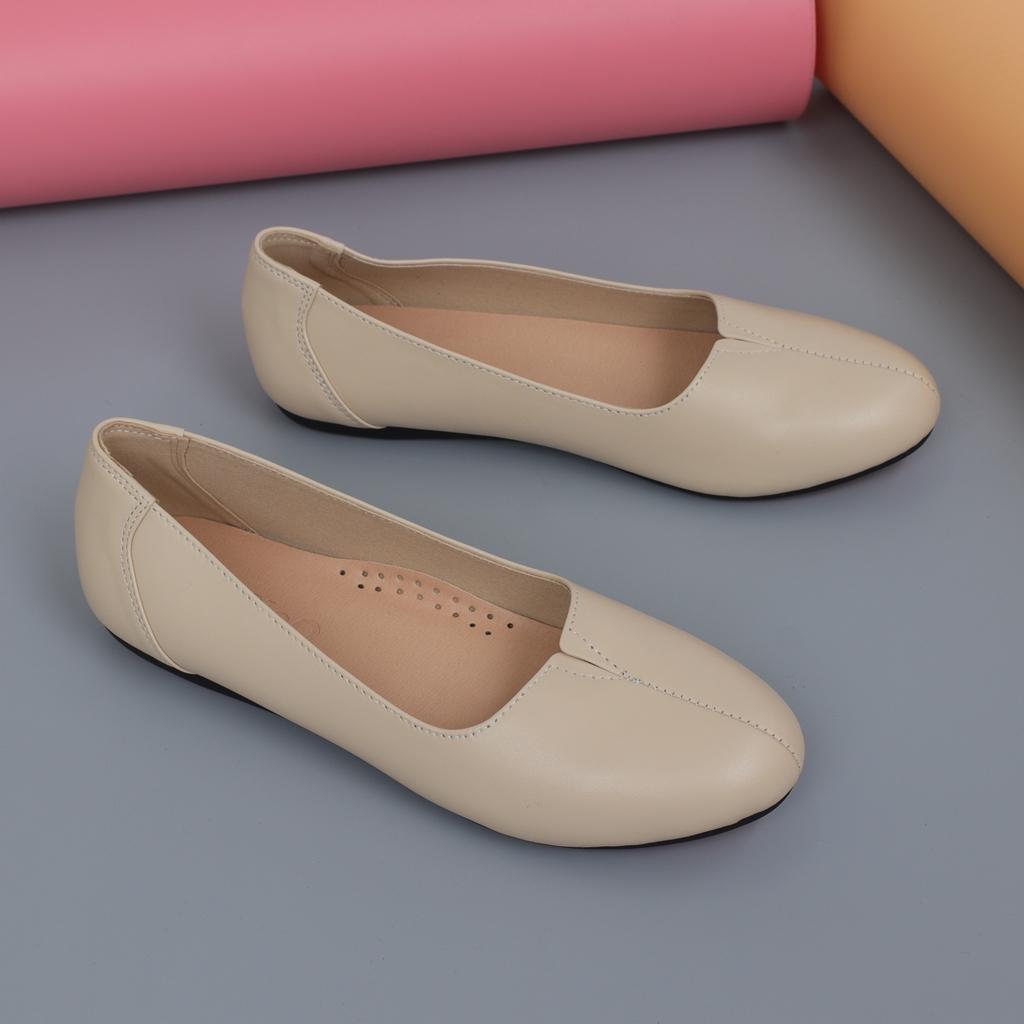 Giày bệt nữ đế cao su