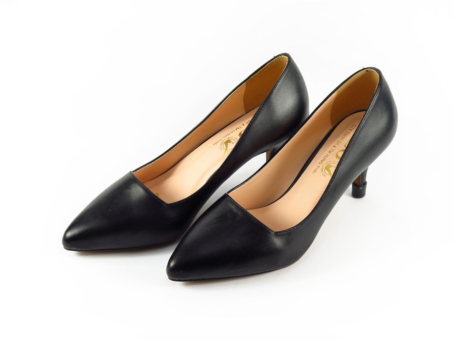 Giày công sở nữ cao 5p