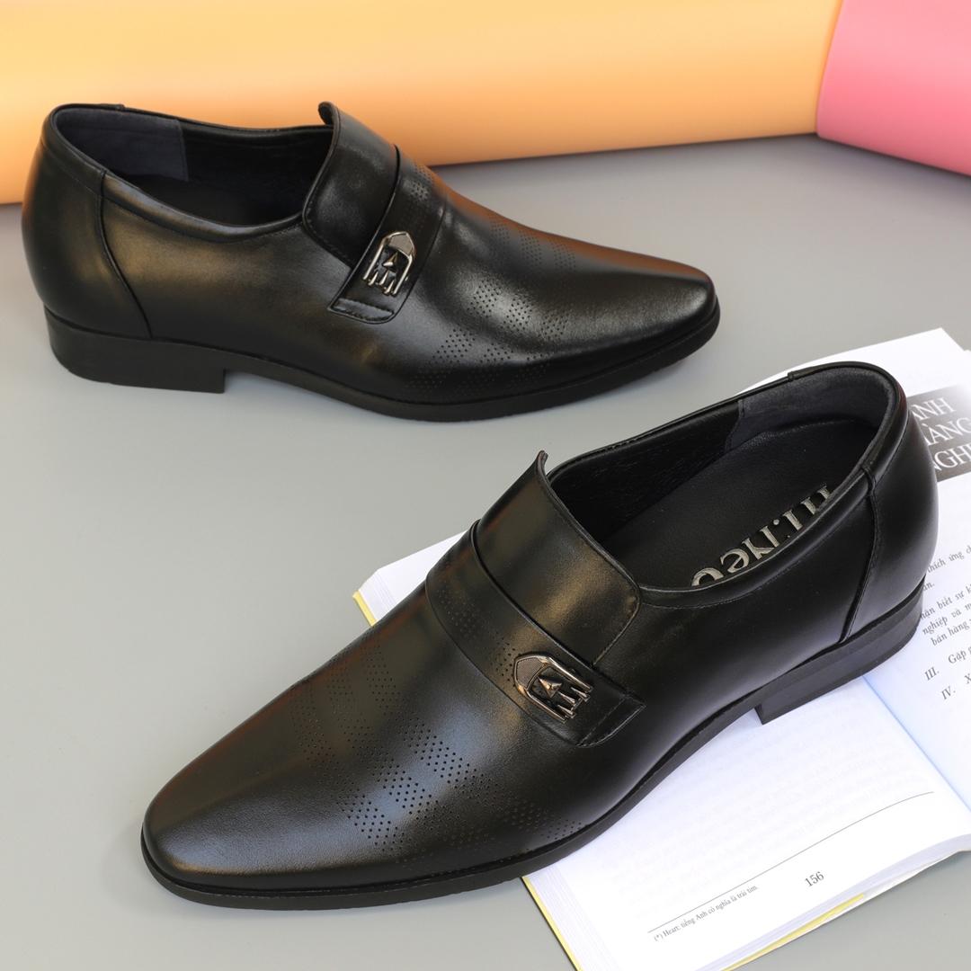 Giày lười nam độn gót tăng chiều cao 7cm