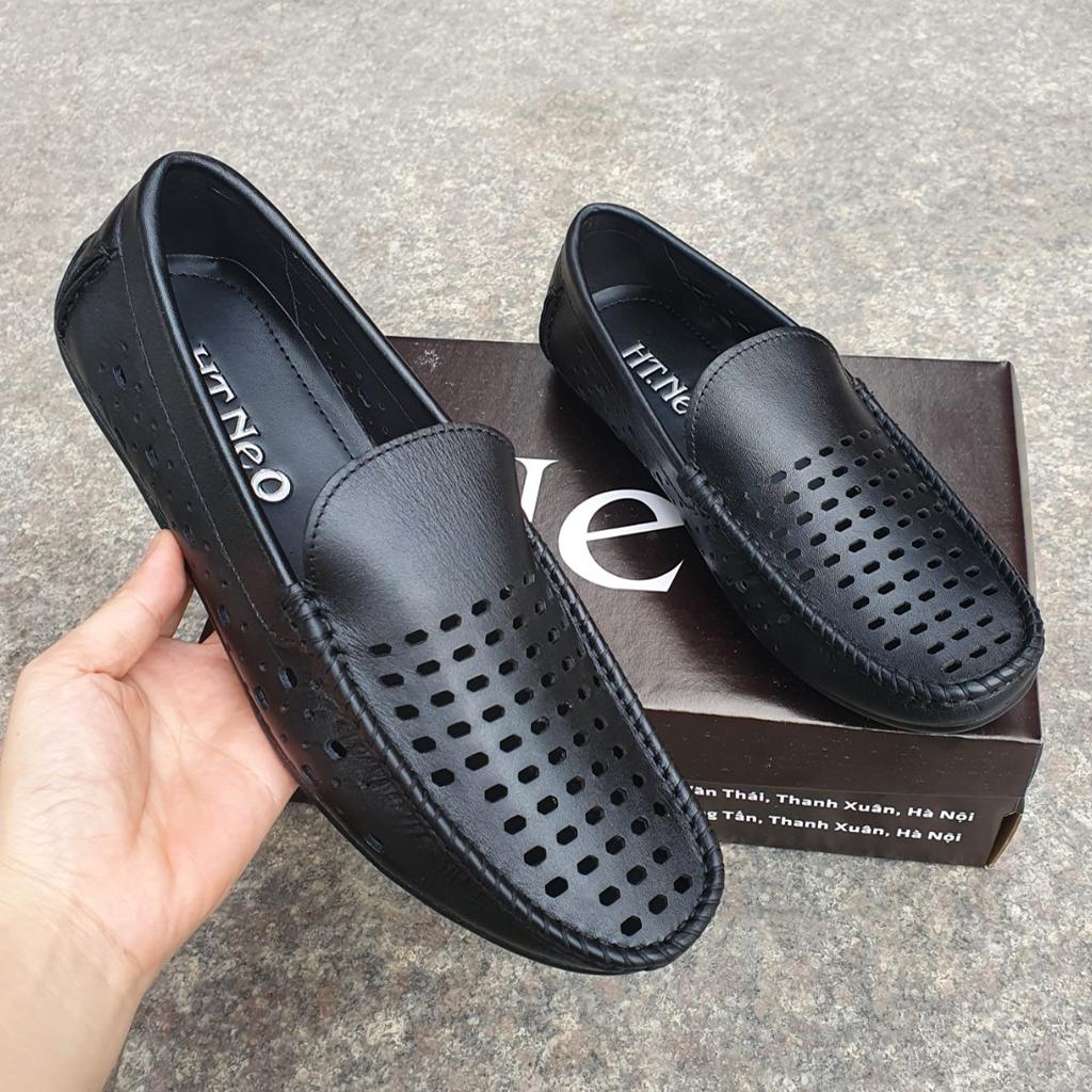 Giày mọi nam thoáng khí da bò đẹp