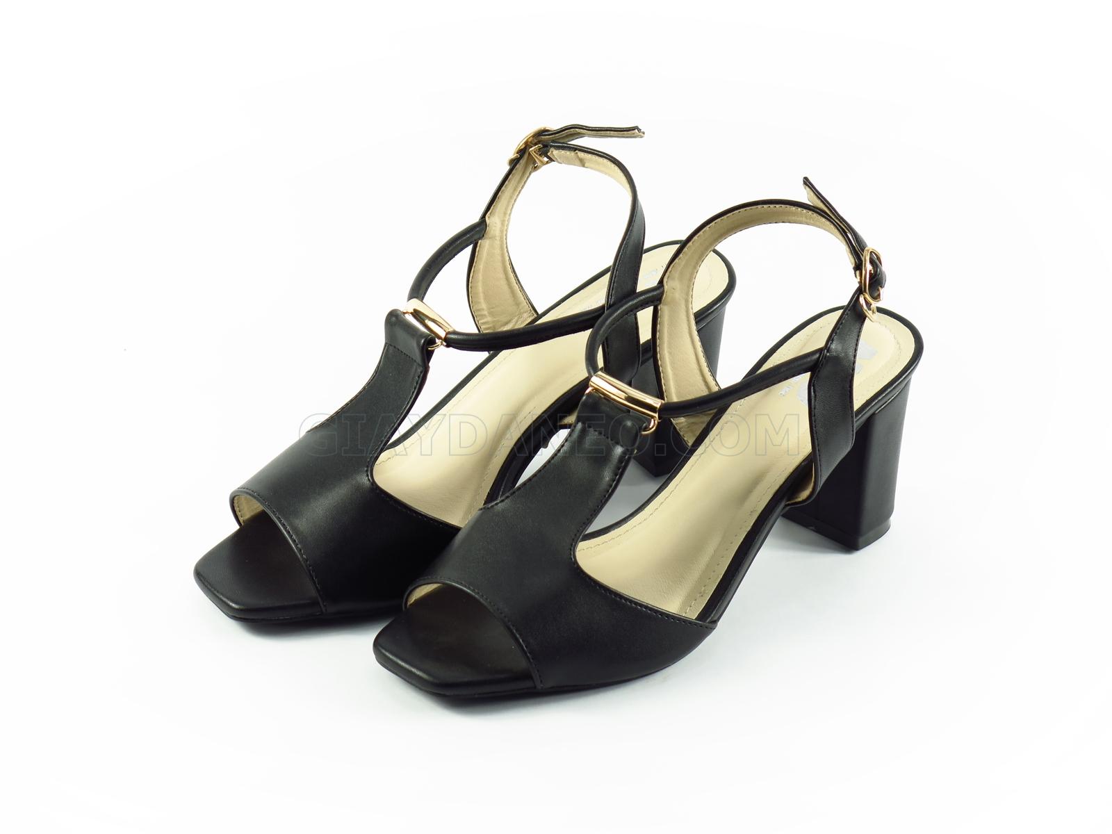 Sandal nữ gót trụ cao 7p