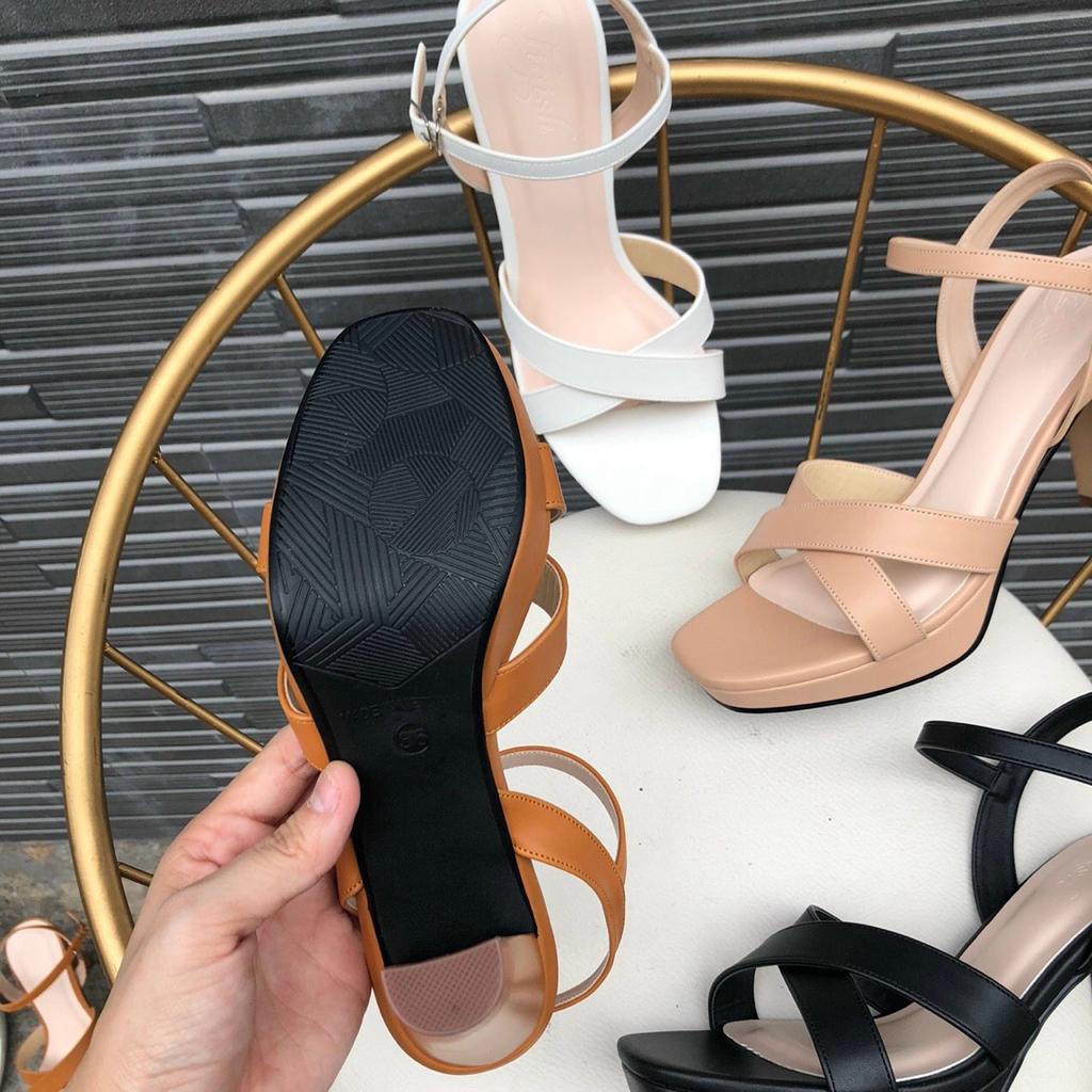 Sandal nữ đế đúp cao 10p