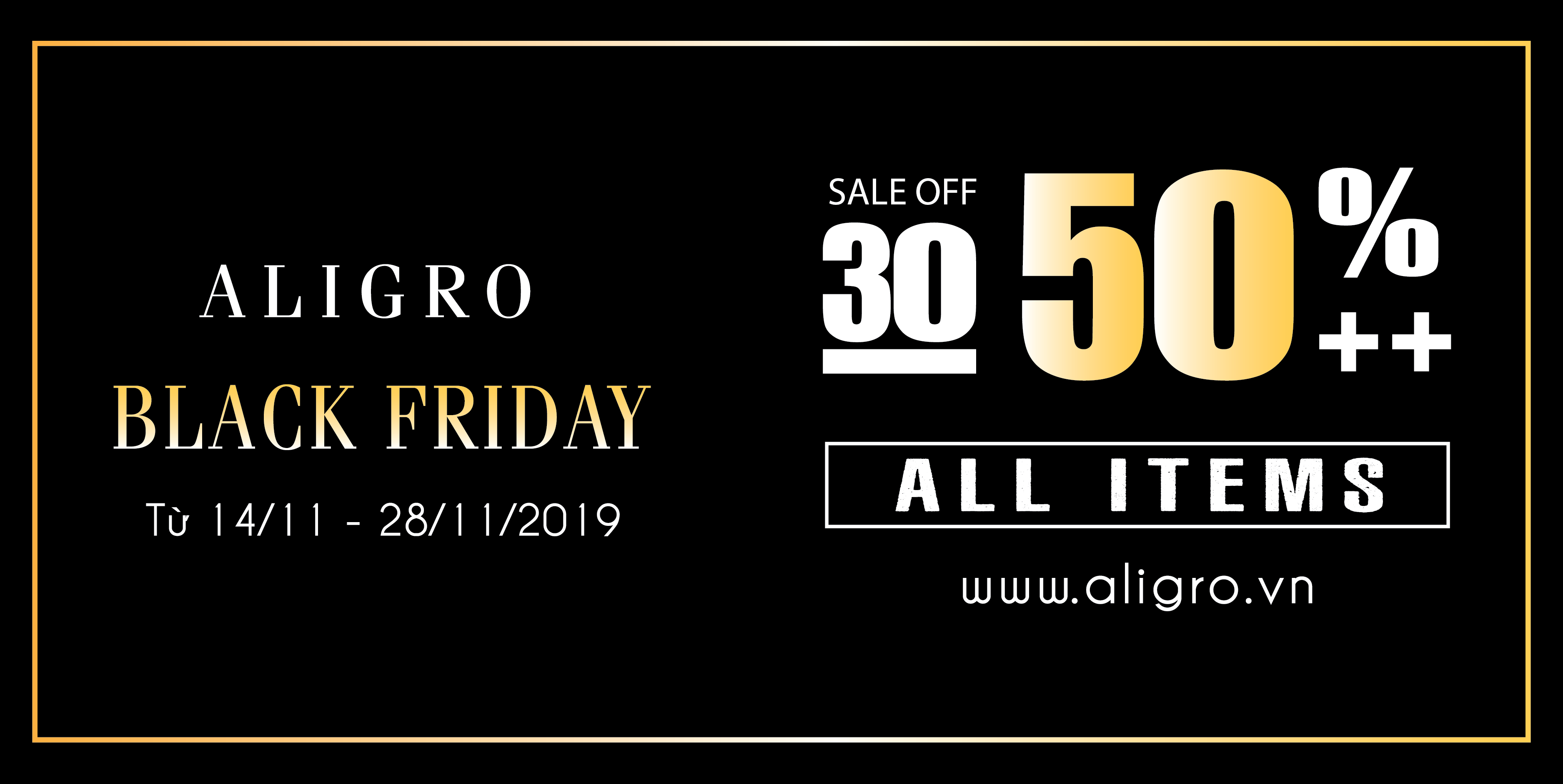 BLACK FRIDAY SALE CỰC SỐC