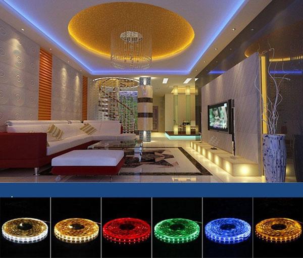 Chọn màu sắc ánh sáng đèn led như thế nào cho phù hợp với nhà ở?