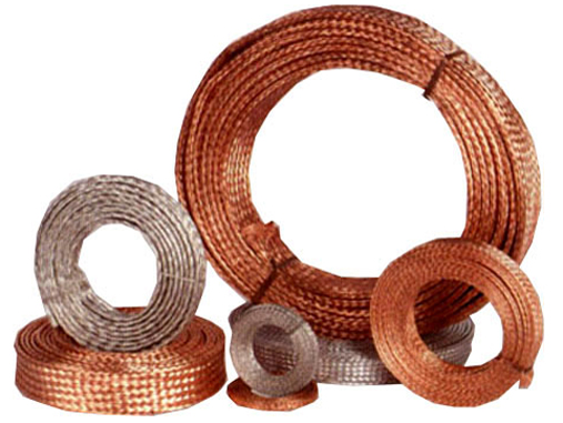 Dây đồng bện - Copper wire braided