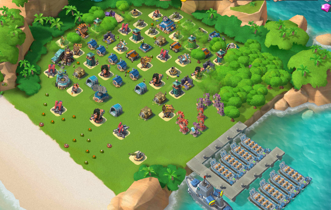 1)  Boom beach level 56, Name change : Available, Power powders 917
