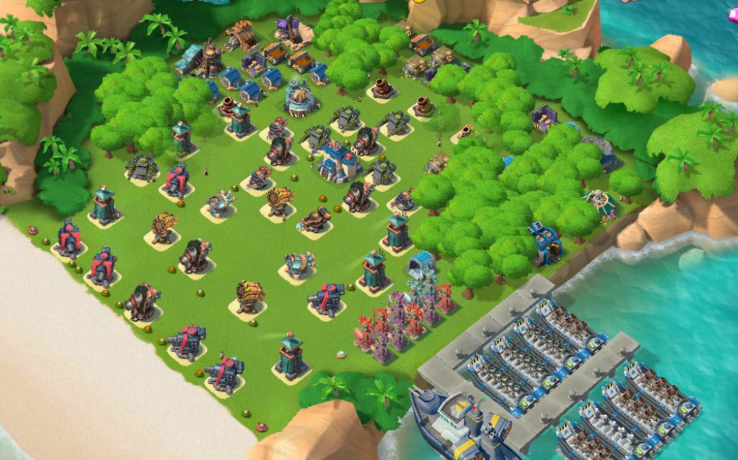 E13)  Boom beach level 62, Name change : Available, Power powders 1318