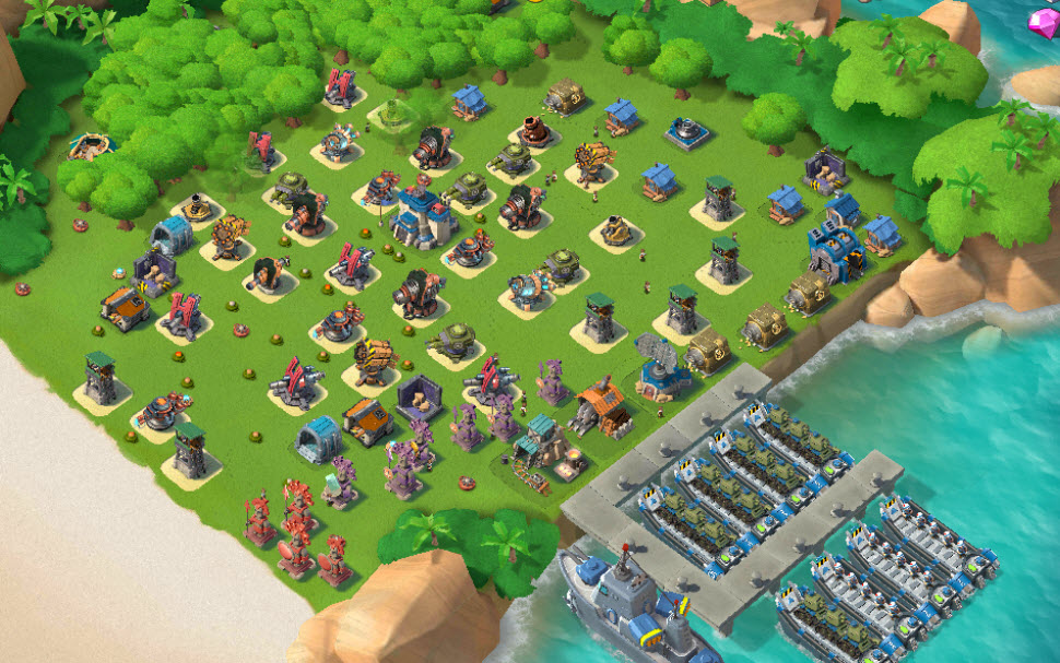E33)  Boom beach level 60, Name change : Available, Power powders 1403